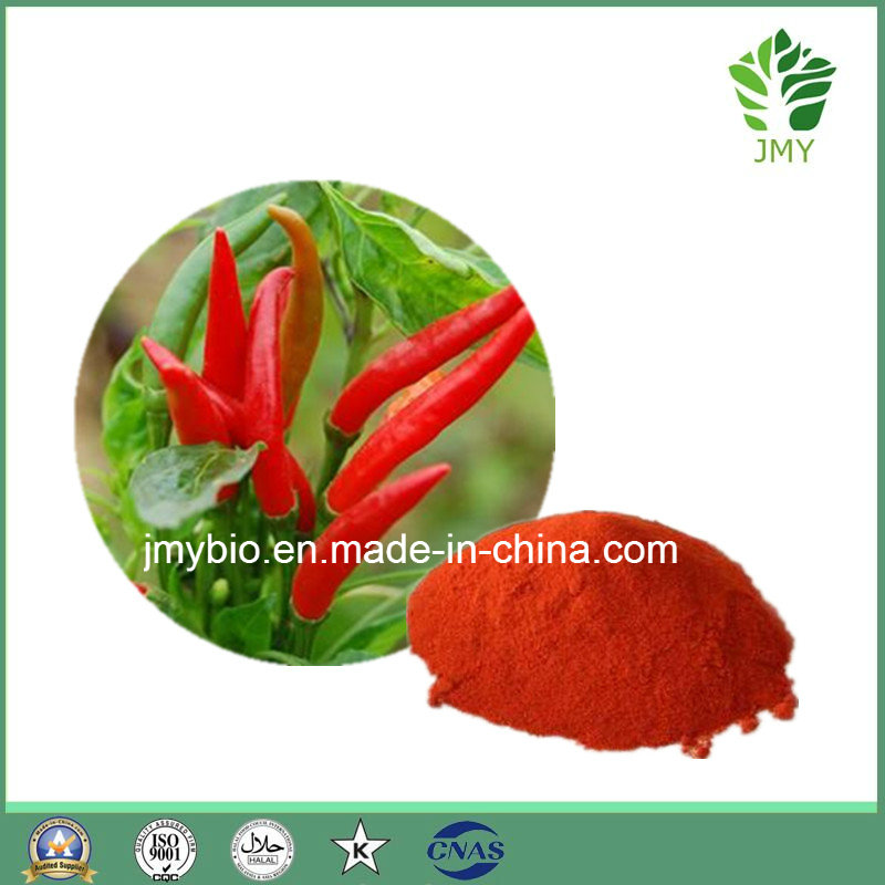 Natural Red Pepper Extract Capsaicin 1%~98%