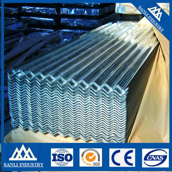Galvanizing Corrugated Sheet