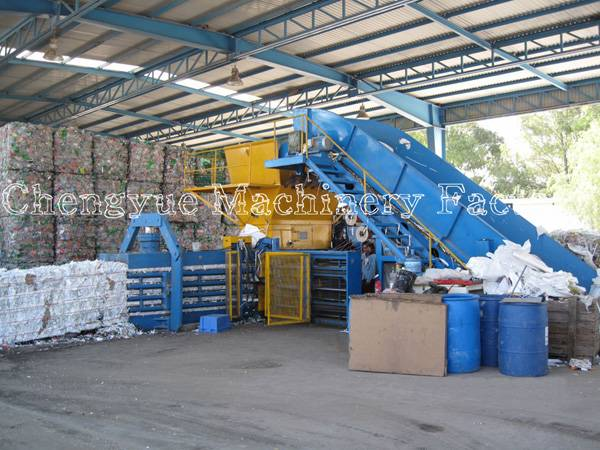 China Hydraulic Press Baling Machine for Cardboard and waste paper