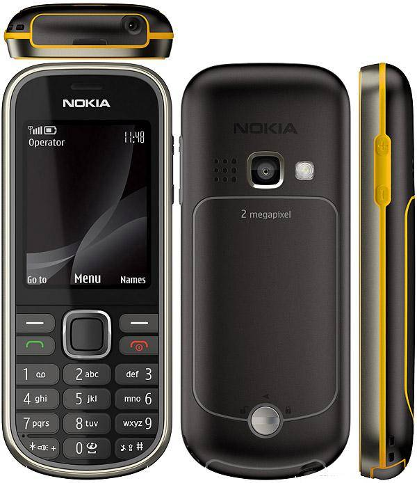 Original unlocked GSM mobile phones Nokia 3720 classic