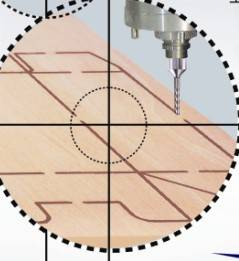 Diemaker board mould milling machine