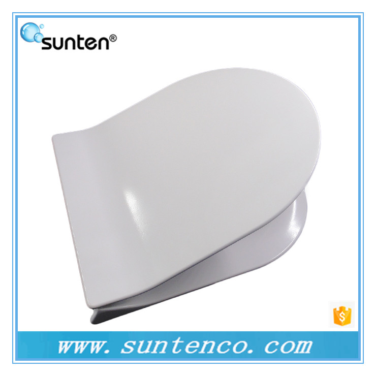 Slow Close Ultra Slim D Shape Toilet Seat Covers Supplier