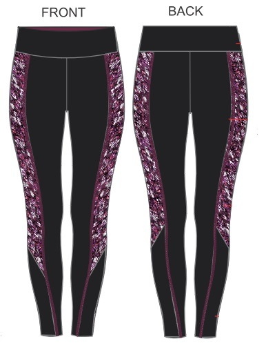 Ladies Sports Pants, Long Style, Quick Drying