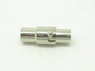 Magnetic Jewelry Clasp Silver 16x7mm