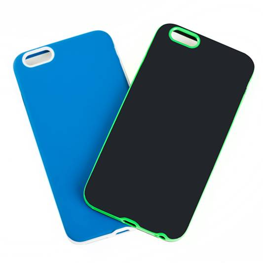 Wholesale OEM soft TPU mobile phone holder with shockproof PC bumper