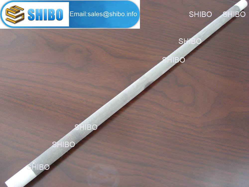 Straight shape SiC heating elements