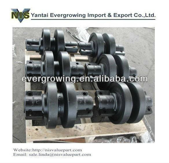 Crawler crane undercarraige part bottom roller for Nippon Sharyo(NISSHA) Piling machine DH408