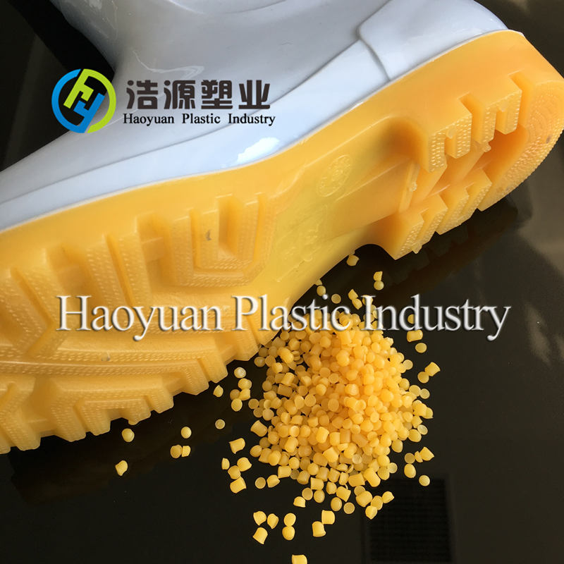 PVC plastic raw materials for gumboots