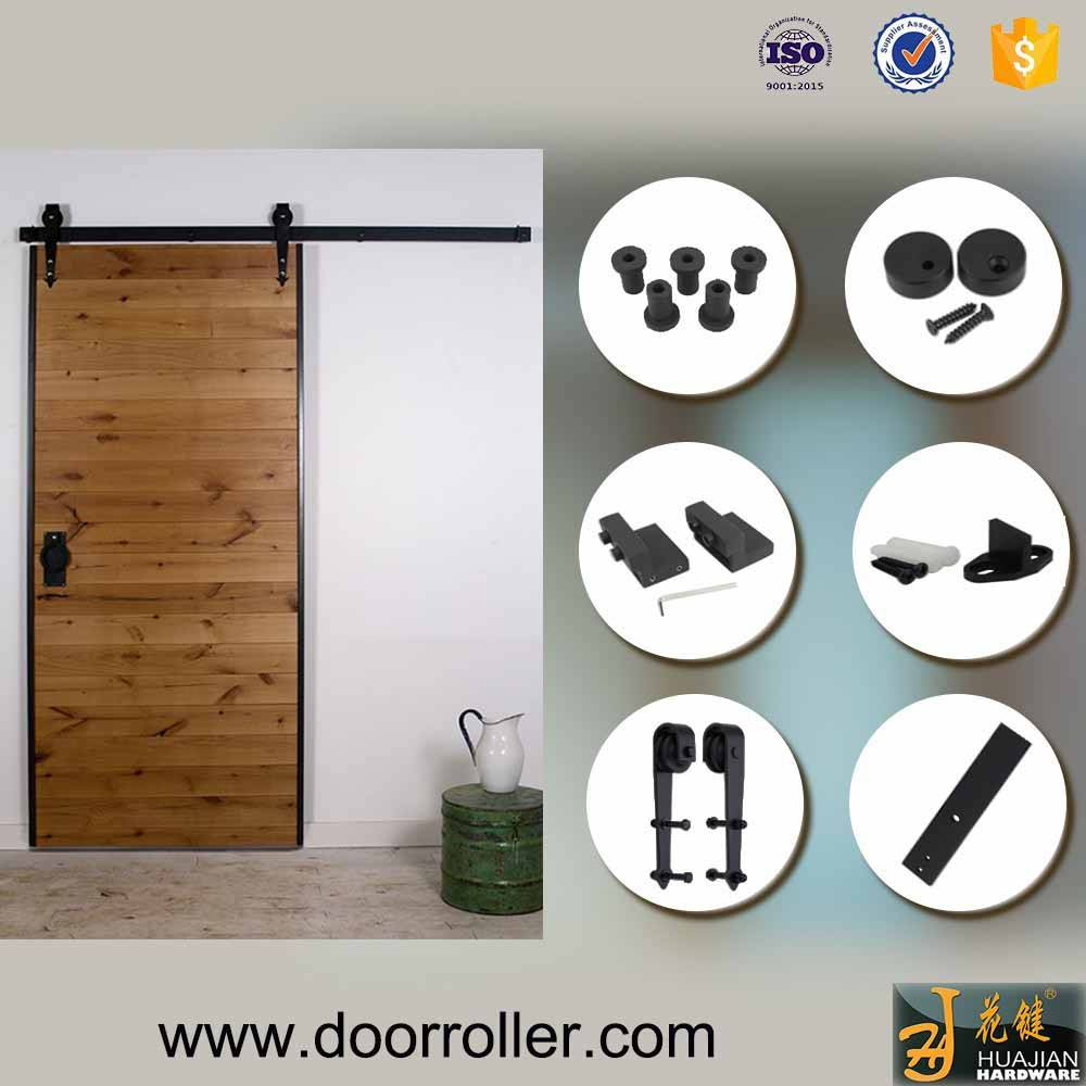 classical type wall mount bypass barn sliding door hardware