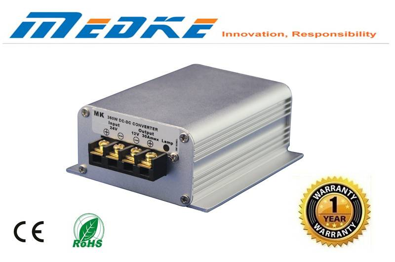 china wholesale dcdc converter 24V to 13.8V 20a 276w power converter for electric car