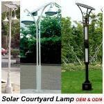 solar courtyard lights - normal courtyard lights