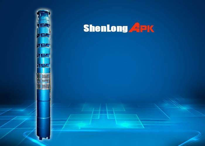10m3/h, 65m cast iron high efficiency submersible water pump