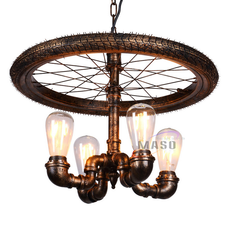 2020 new lights bike parts electrical pipe lamp stand fixtures