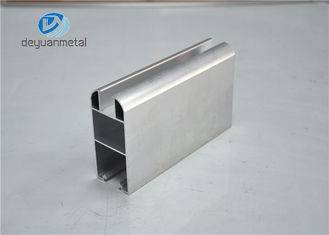 Customized Extruded Aluminium Profiles For Office Building , Mill Finish 6063-T5
