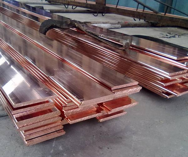 copper coated steel tape