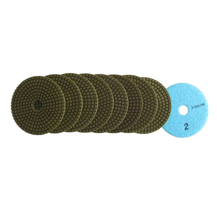 3 Step Wet Polishing Pad for Granite