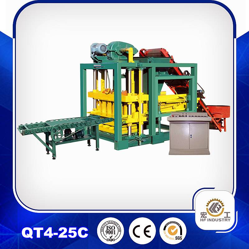 QT4-25C brick making machine brick machinery