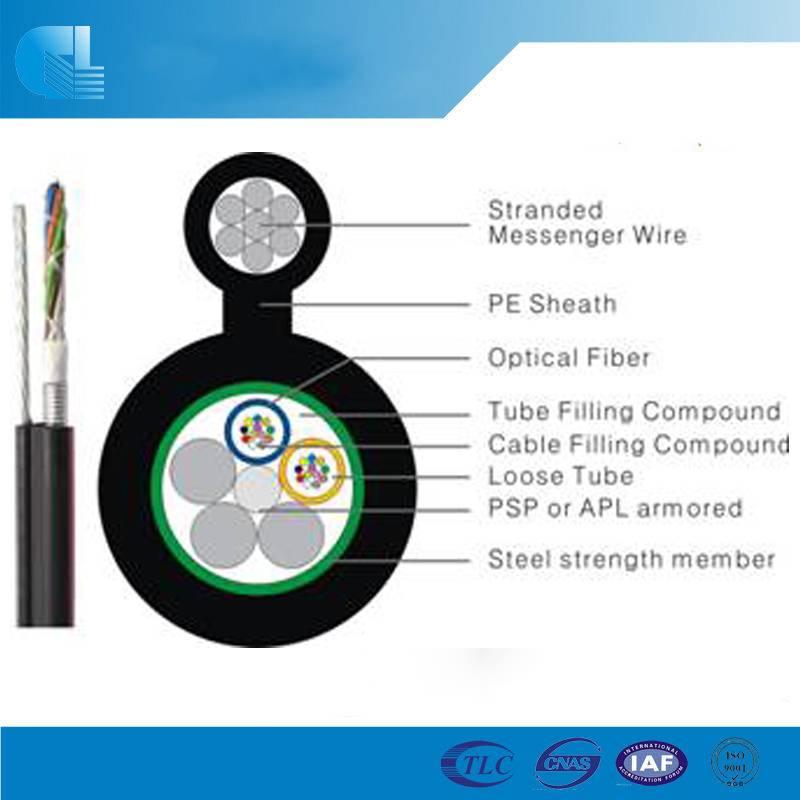 Figure-8 Cable with Steel Tape/Aluminum (GYTC8S/GYTC8A)
