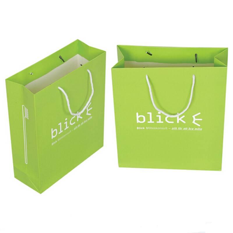 China factory custom logo printed paper bag