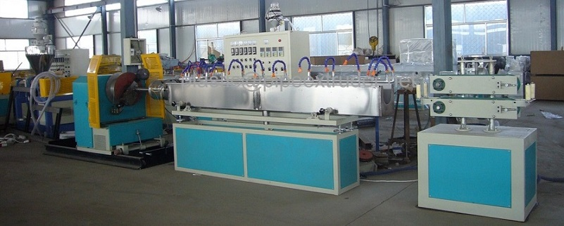 Pipe Extrusion Line-PVC Steel Wire Reinforced Pipe Extrusion Line