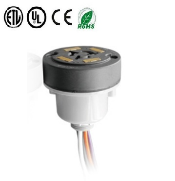 7 Pin dimming Receptacle for Twist-Lock Photocontrol for LED Lighting