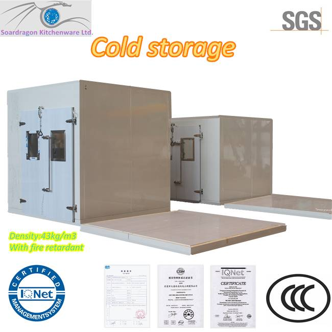 PU Polyurethane Foaming Cold Room