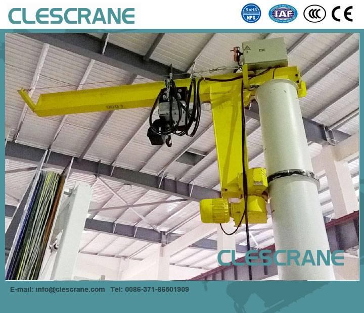CJZ Series China Top Industry Crane Brand Column cantilever crane 1t