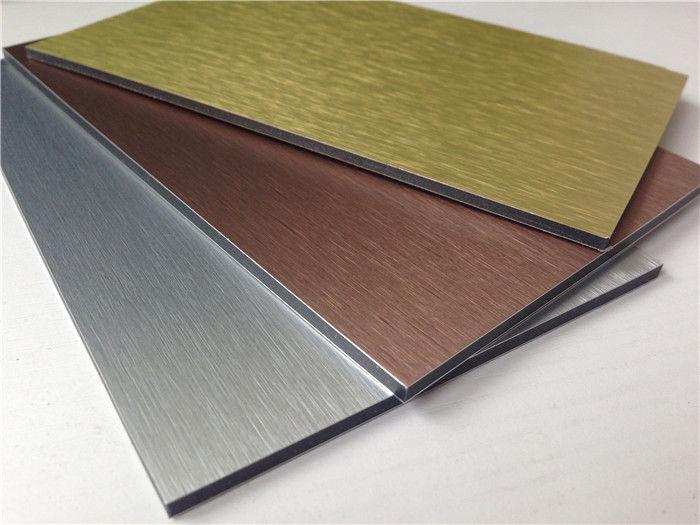4mm PVDF exterior wall cladding panel, aluminum composite panel decorative ACP