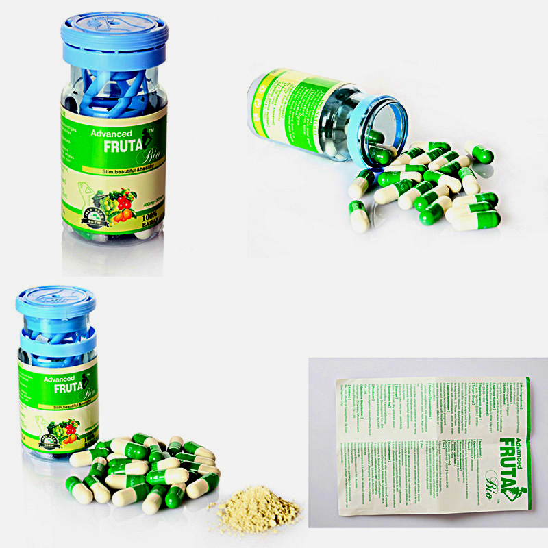 Advanced Plant Essence Fruta Bio Bottle Weight Loss Slimming Capsules