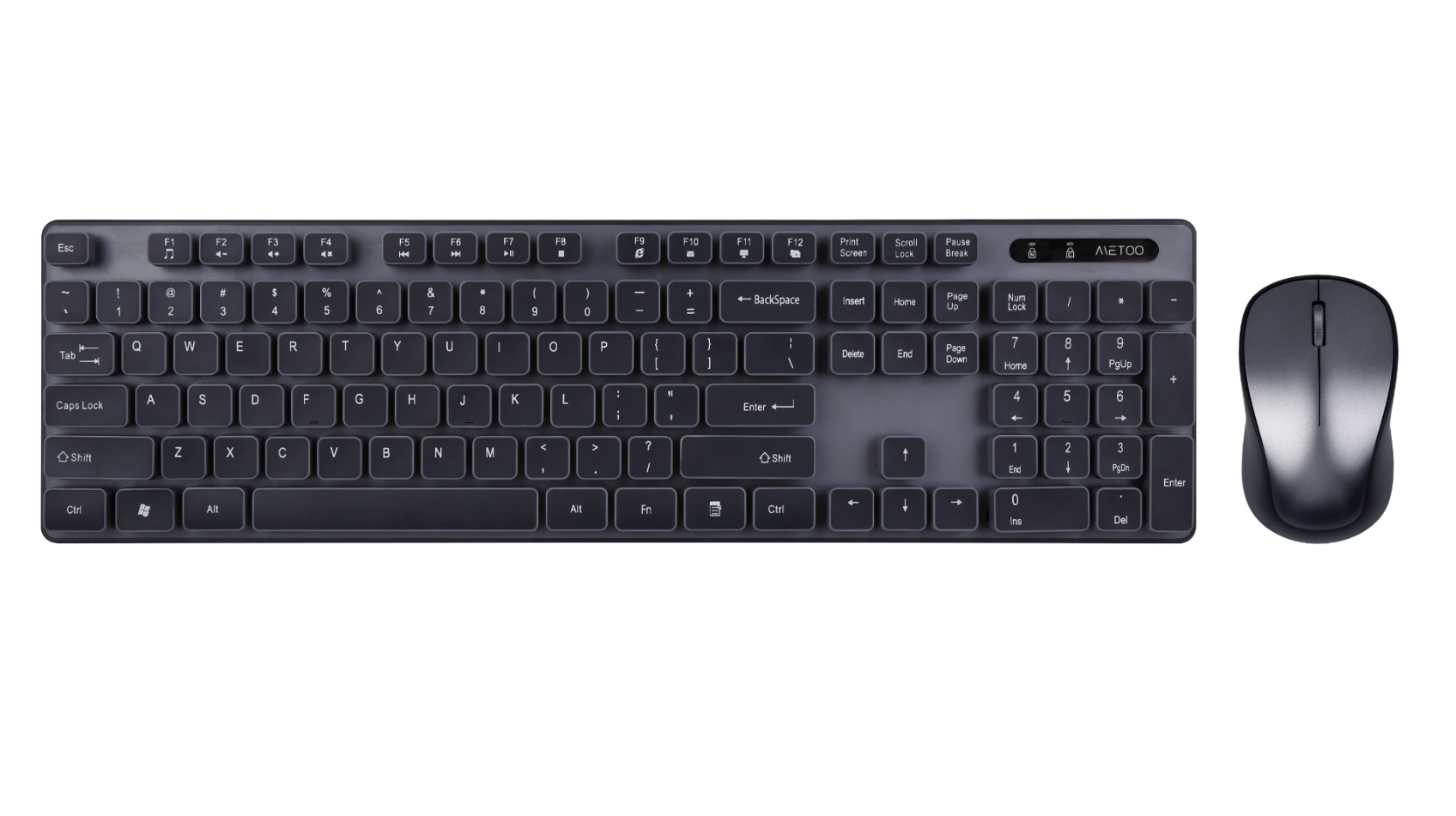 Metoo Wireless keyboard and mouse C500
