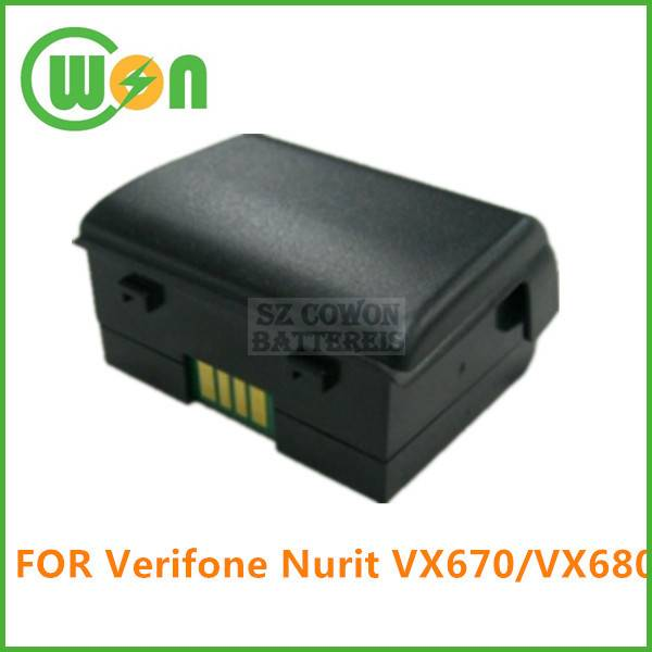 POS replacement battery for Verifone VX670 battery