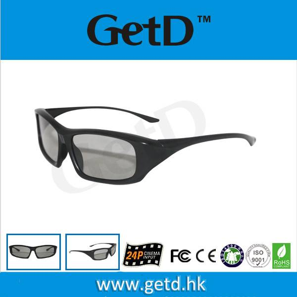 Dealer price 3d Glasses from China for Russia Kino Expo CP297G64R