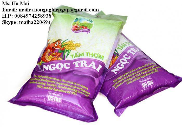 NGOC TRAI 5% BROKEN LONG GRAIN RICE FROM VIETNAM-MS HA 84974258938