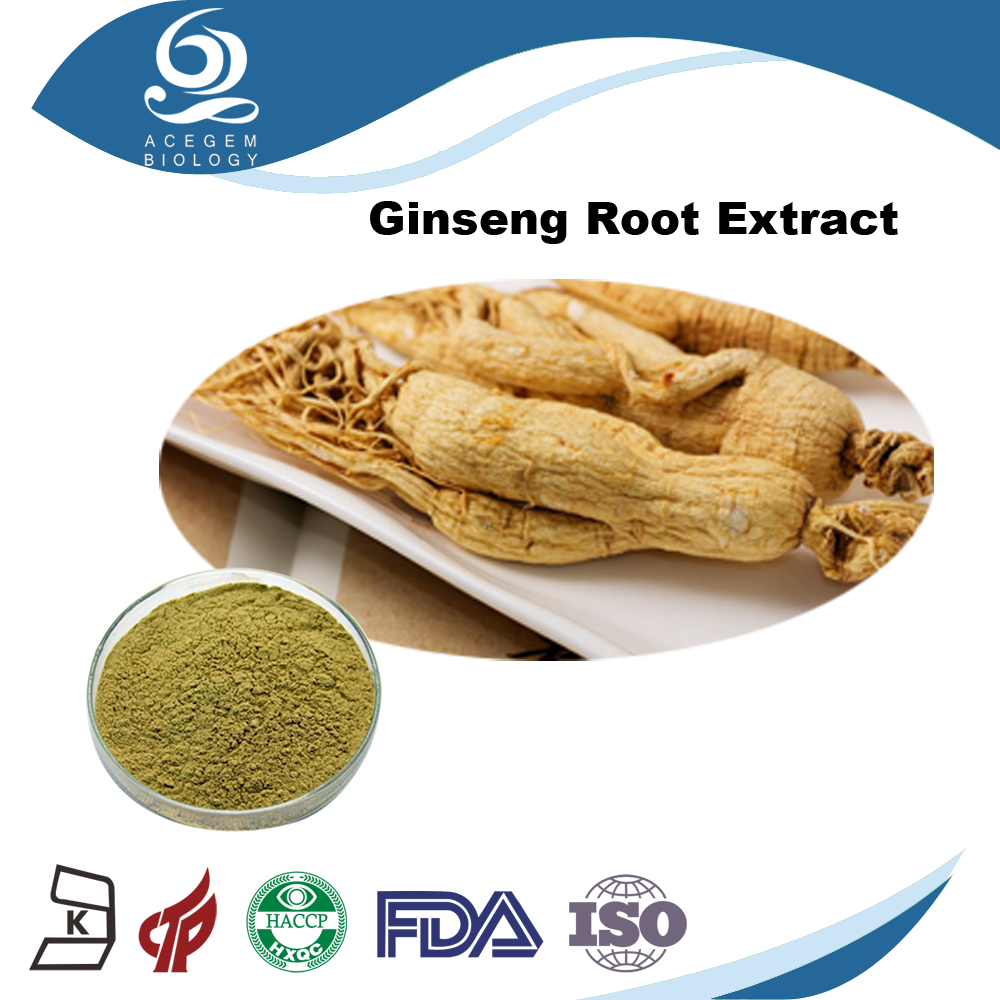 USP38 Standard Panax Ginseng Root,Ginsenosides 1%-20% HPLC For Dietary Supplement
