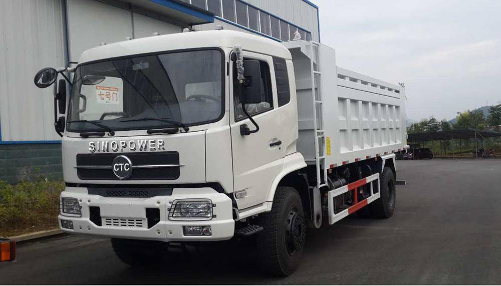 China brand new CTC-SINOPOWER 4x2 dump trucks sale