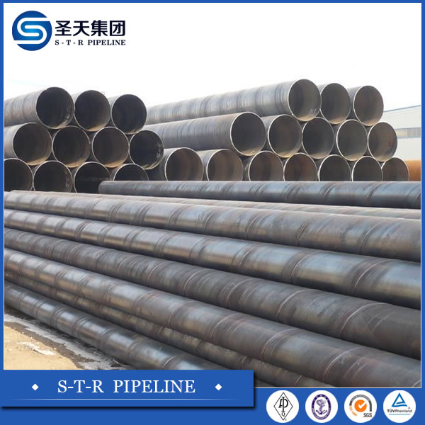 API5L thick wall large diameter spiral steel pipe