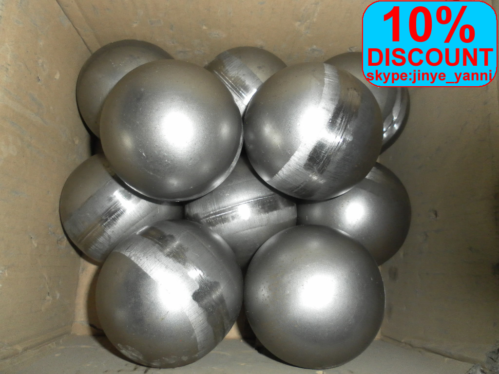 ornamental hollow ball for garden fence and gate