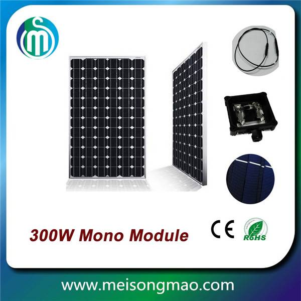 Wholesale mono solar panel 300W home power systems
