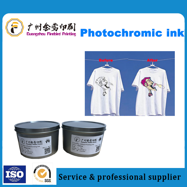 Solar Discoloration Ink/Photochromic Ink/Sunlight Visible Ink