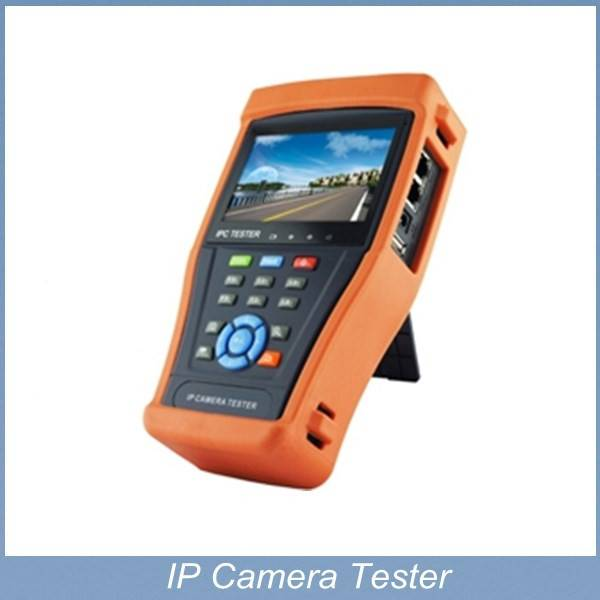 4.3 inch CCTV Tester IP&Analog Camera Testing PTZ Wire tracker UPT Cable Testing with Video level me