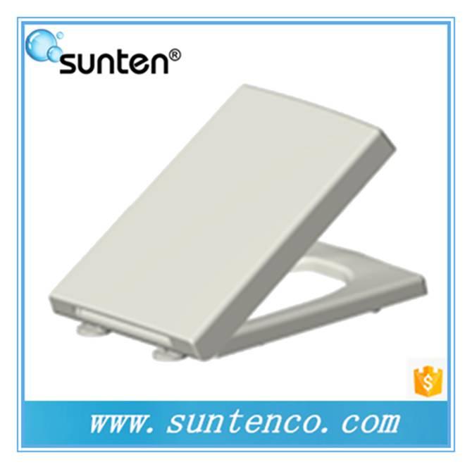 Xiamen UF Material Slow Drop Quick Release Square Toilet Seat