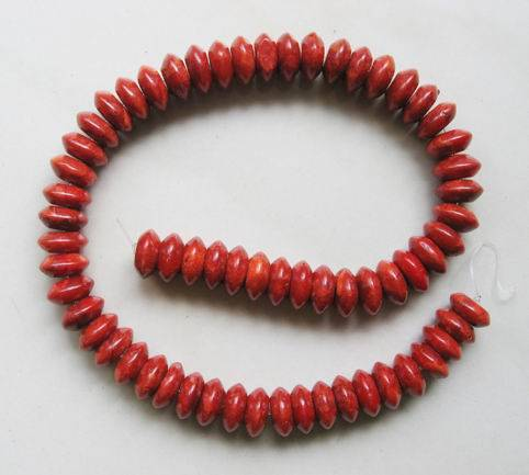 Natural Sponge Coral Beads,8x10mm Rondelle