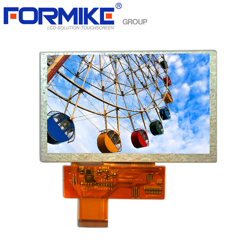 """Hot Selling 5tftlcd800x480 Display Rohs Compliant 5"""" TFT LCD module with 40 Pin Connector"""