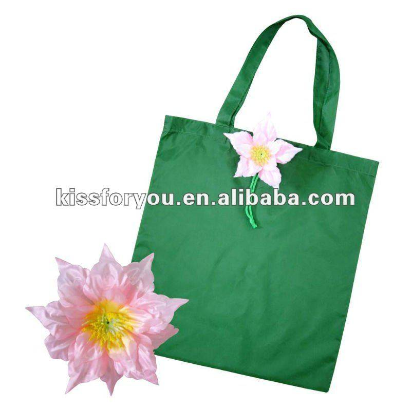 2012 New Style Polyester Shopping Bag Foldable
