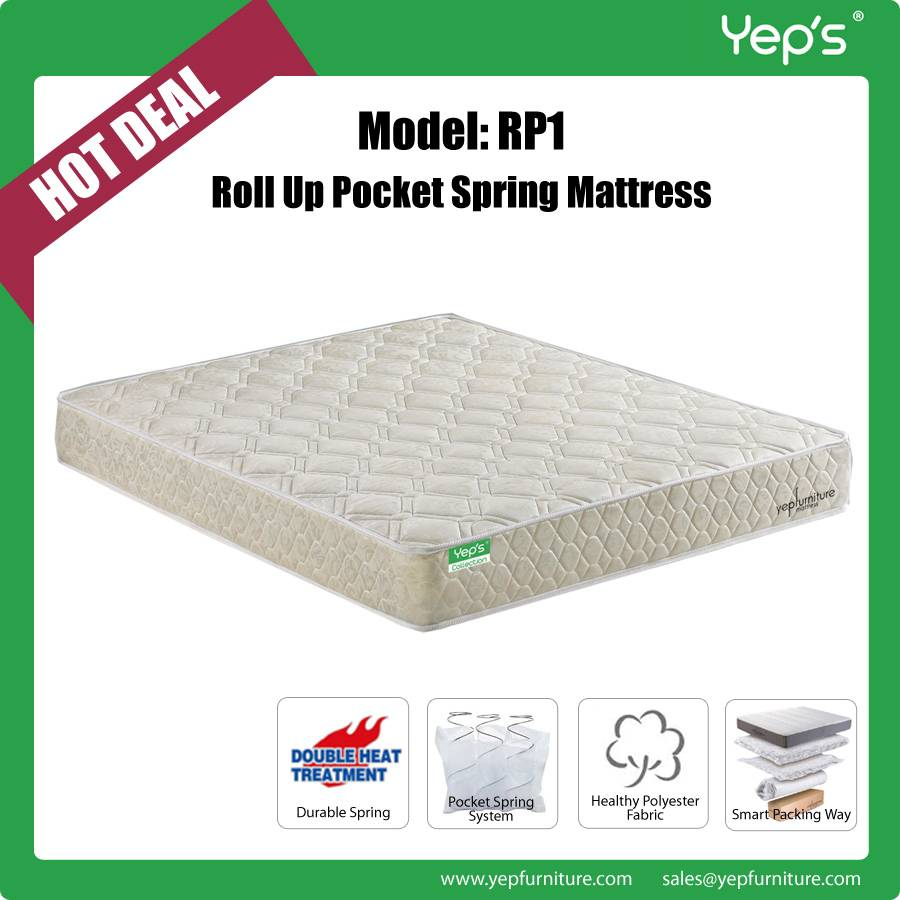 the best attitude 1e7dc 5472b Very Cheap Price Roll Up Individual Pocket Spring Mattress ...