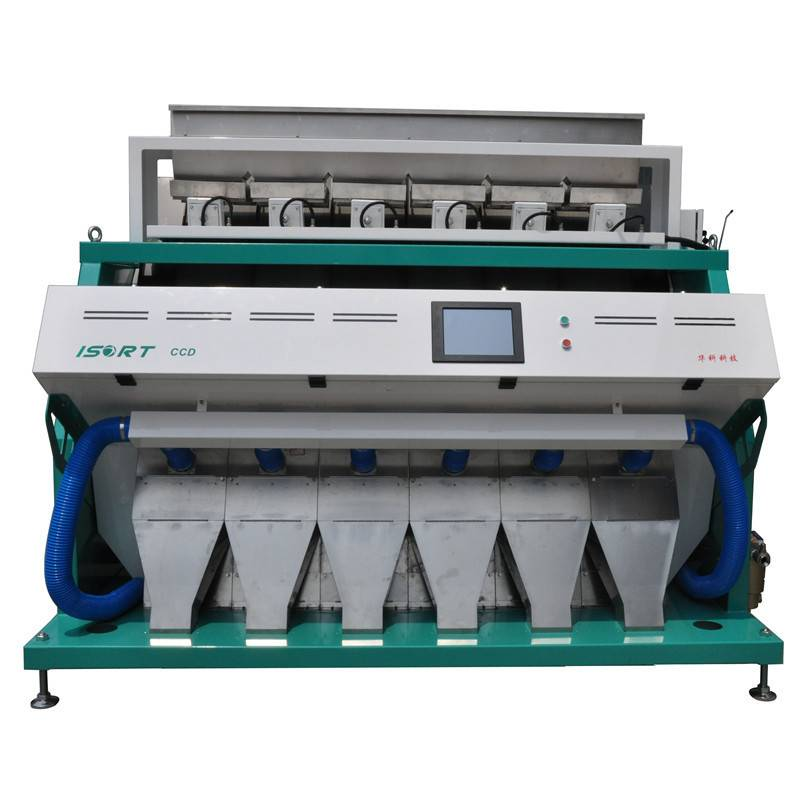 Huake rice color sorter machine with good quality