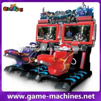 Qingfeng motorcycle simulator racing bike speed motor racing car games for kids