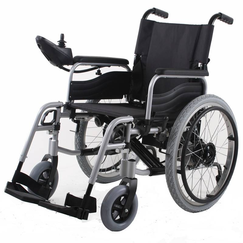 big wheel electric power wheelchair for health care BZ-6101 : big electric wheelchair - Cheerinfomania.Com