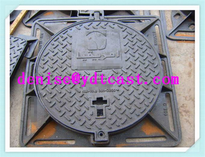 nodular cast iron manhole covers circular ductile security foundry