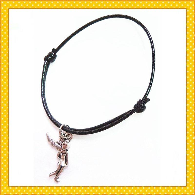 cute fashion girl wax rope bracelet
